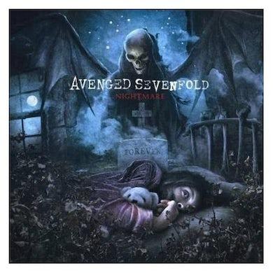 Avenged Sevenfold NIGHTMARE (TRANSPARENT BLUE) Vinyl Record