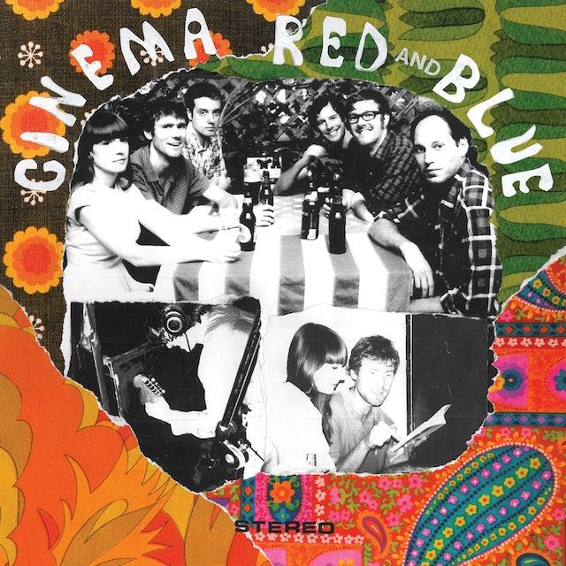 Cinema Red & Blue Vinyl Record