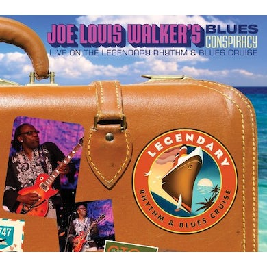 Joe Louis Walker BLUES CONSPIRACY: LIVE ON THE LEGENDARY RHYTHM & CD
