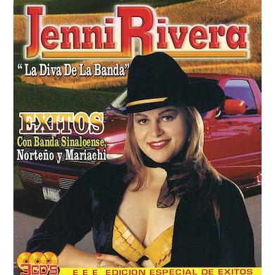 Jenni Rivera EXITOS CON BANDA MARIACHI NORTENO CD