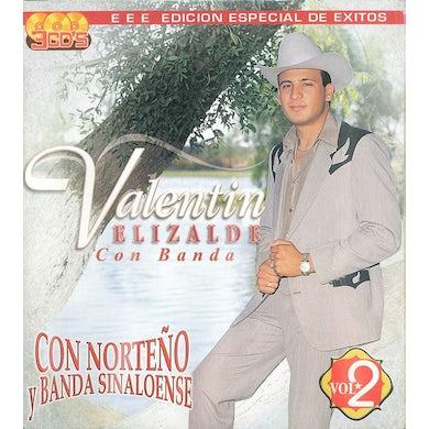 Valentin Elizalde BANDA SINALOENSE Y NORTENO CD