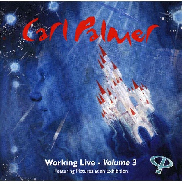 Carl Palmer WORKING LIVE 3 CD
