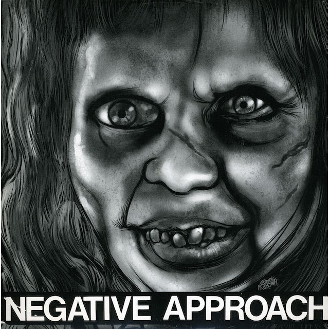 """Negative Approach 10-SONG 7"""" EP Vinyl Record"""