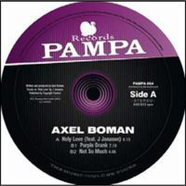 Axel Boman HOLY LOVE Vinyl Record
