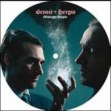 Benoit & Sergio MIDNIGHT PEOPLE Vinyl Record
