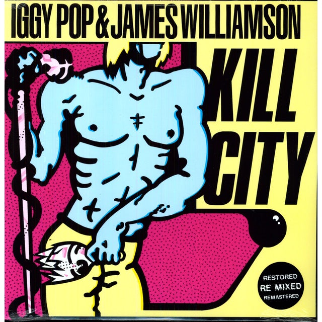 Iggy Pop & James Williamson KILL CITY Vinyl Record