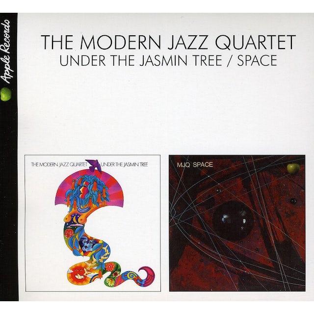 The Modern Jazz Quartet UNDER THE JASMIN TREE / SPACE CD