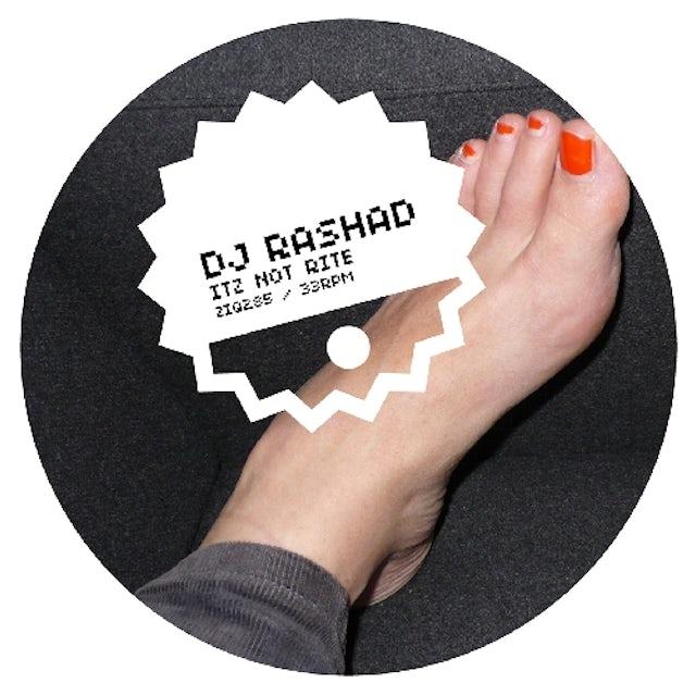 Dj Rashad ITZ NOT RITE Vinyl Record