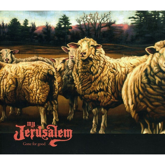 My Jerusalem GONE FOR GOOD CD