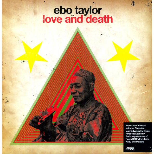 Ebo Taylor LOVE & DEATH Vinyl Record