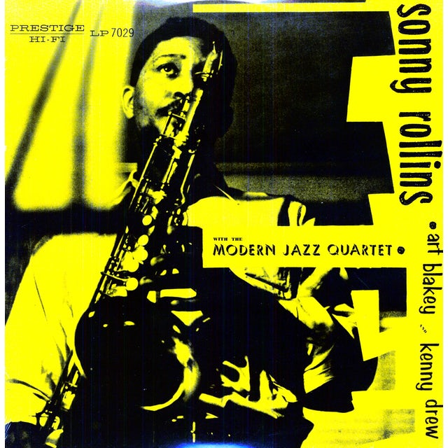 Sonny Rollins WITH THE MODERN JAZZ QUARTET Vinyl Record