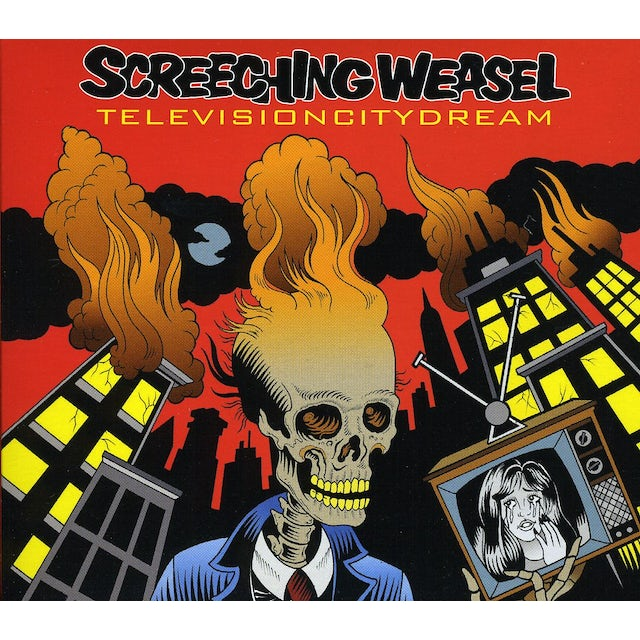 Screeching Weasel TELEVISION CITY DREAM CD