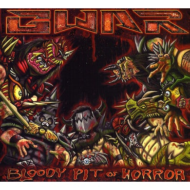 Gwar BLOODY PIT OF HORROR CD