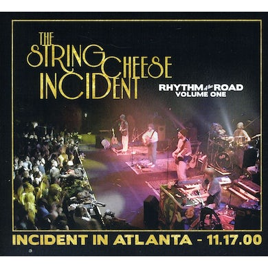 String Cheese Incident RHYTHM OF ROAD 1: INCIDENT IN ATLANTA 11-17-00 CD