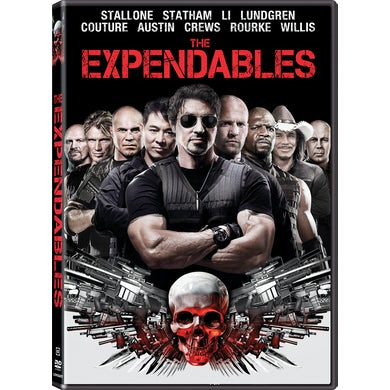 EXPENDABLES (2010) DVD