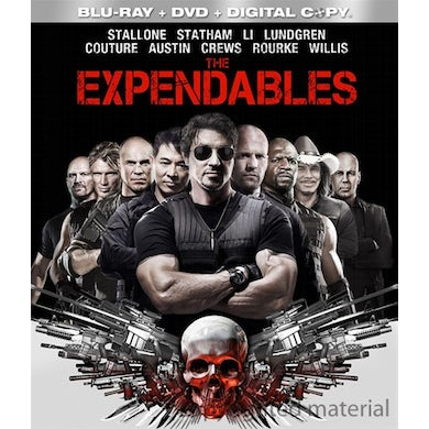 EXPENDABLES (2010) Blu-ray