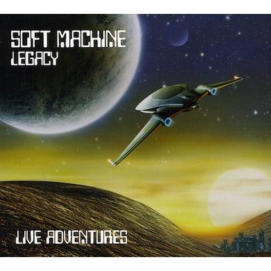 Soft Machine Legacy LIVE ADVENTURES CD