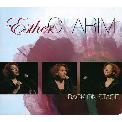 Esther Ofarim BACK ON STAGE CD