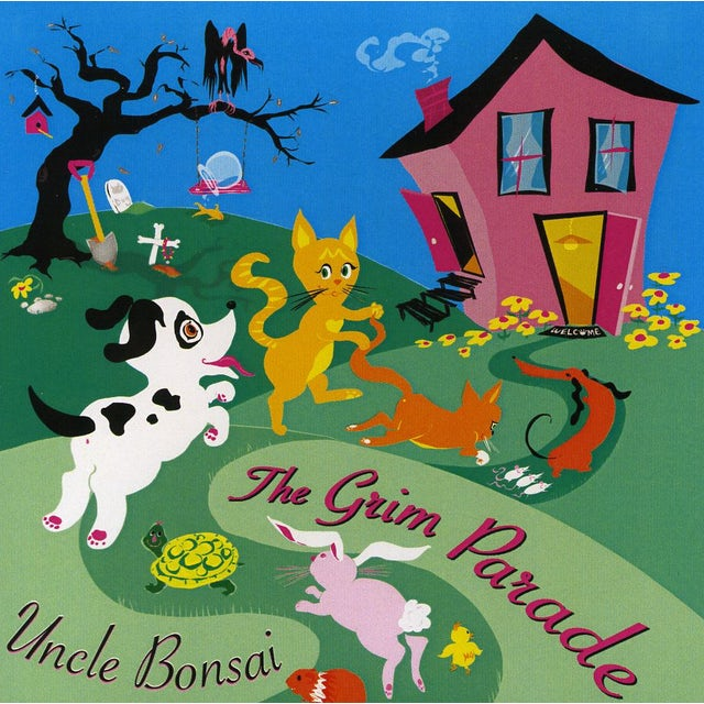 Uncle Bonsai GRIM PARADE CD