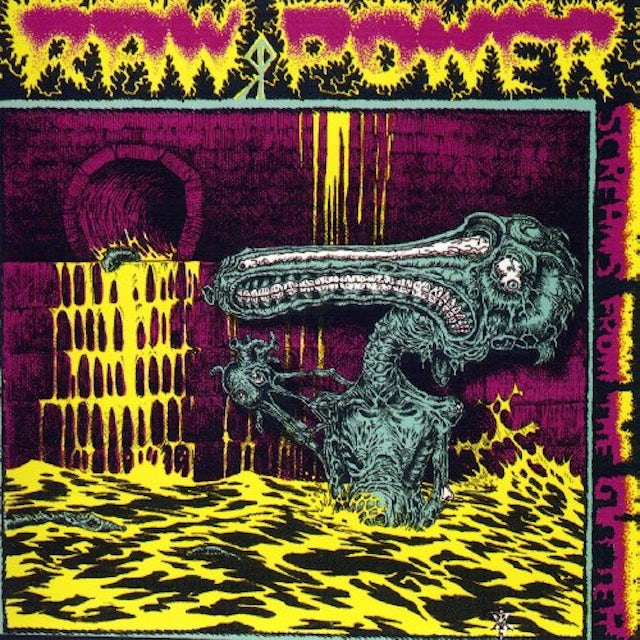Raw Power SCREAMS FROM THE GUTTER Vinyl Record