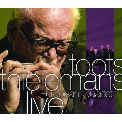 Toots Thielemans EUROPEAN QUARTET LIVE CD