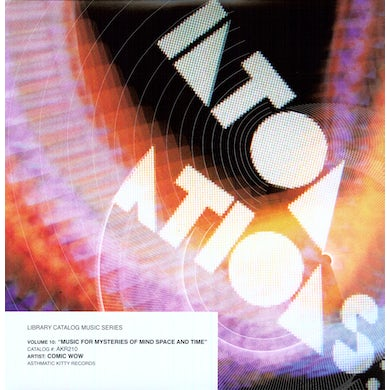 LIBRARY CATALOG MUSIC SERIES: FOR MYSTERIES OF Vinyl Record