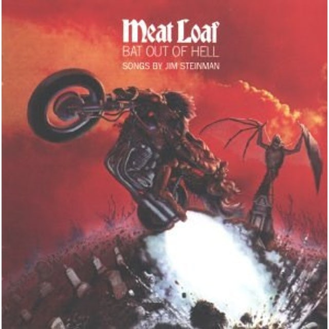 Meat Loaf BAT OUT OF HELL Vinyl Record