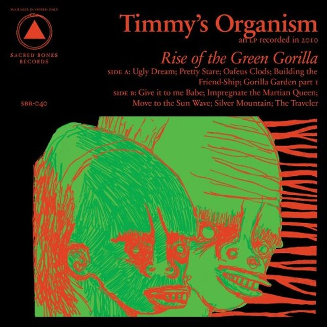 Timmy's Organism RISE OF THE GREEN GORILLA Vinyl Record
