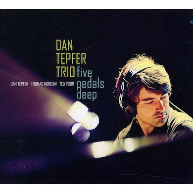 Dan Tepfer FIVE PEDALS DEEP CD