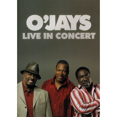 The O'Jays LIVE IN CONCERT DVD
