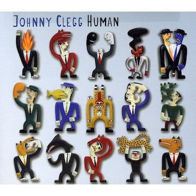 Johnny Clegg HUMAN CD