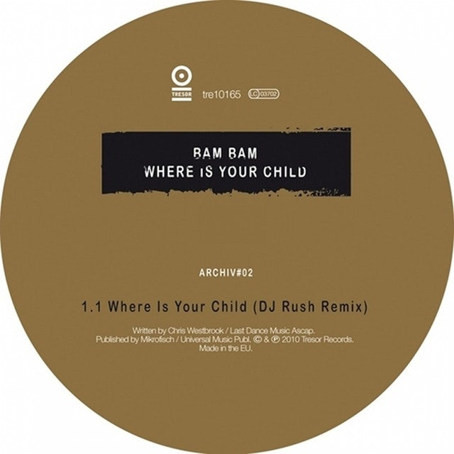 Bam Bam WHERE IS YOUR CHILD Vinyl Record