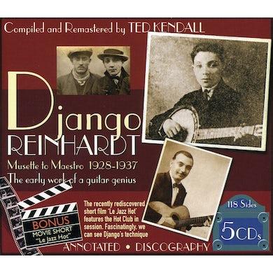 Django Reinhardt MUSETTE TO MAESTRO 1928-1937 CD