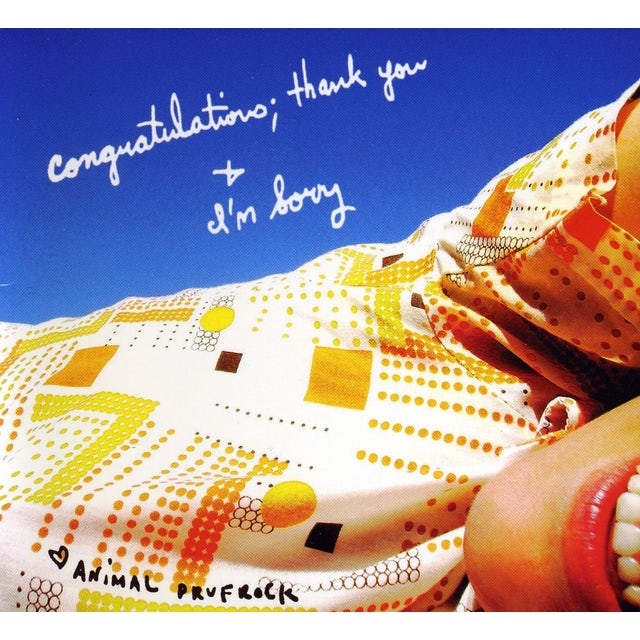 Animal Prufrock CONGRATULATIONS: THANK YOU & IM SORRY CD