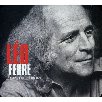 Leo Ferre 100 PLUS BELLES CHANSONS CD