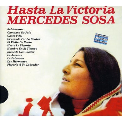 Mercedes Sosa HASTA LA VICTORIA CD