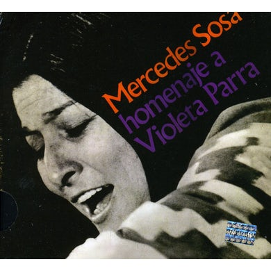 Mercedes Sosa HOMENAJE A VIOLETA PARRA CD