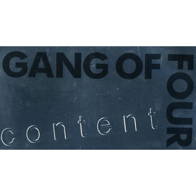 Gang Of Four CONTENT CD