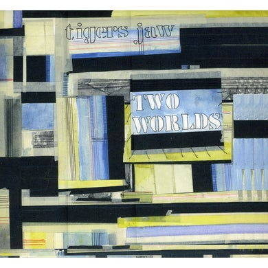 Tigers Jaw TWO WORLDS CD