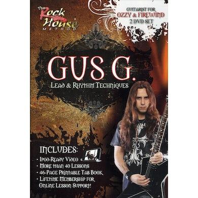 Gus G. LEAD & RHYTHM TECHNIQUES DVD