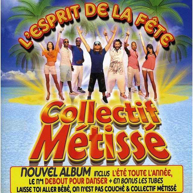 Collectif Metisse LESPRIT DE LA FETE CD