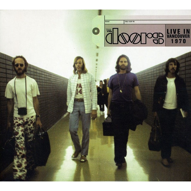 The Doors LIVE IN VANCOUVER 1970 CD