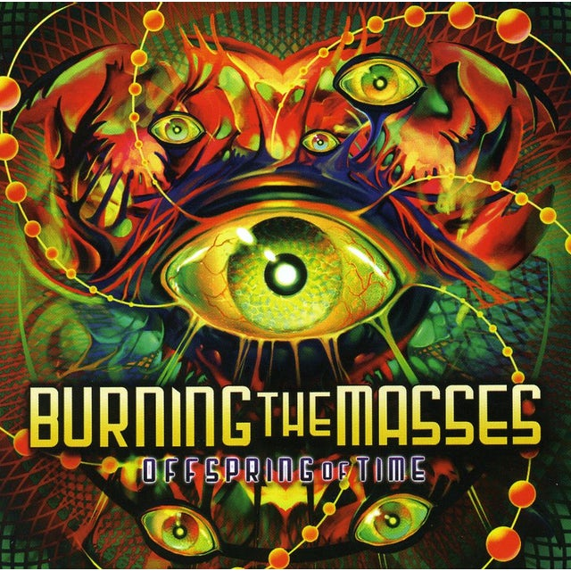 Burning The Masses OFFSPRING OF TIME CD