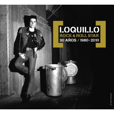 Loquillo ROCK & ROLL STAR: 30 ANOS CD