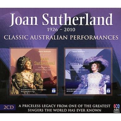 Joan Sutherland CLASSIC AUSTRALIAN PERFORMANCES CD