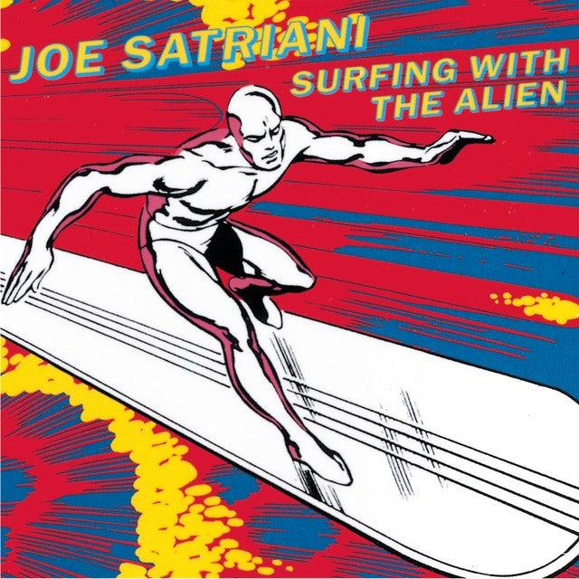 Joe Satriani SURFING WITH THE ALIEN Vinyl Record