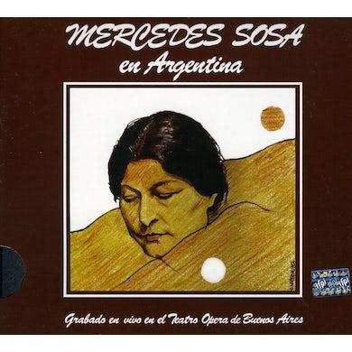 Mercedes Sosa EN VIVO EN ARGENTINA CD
