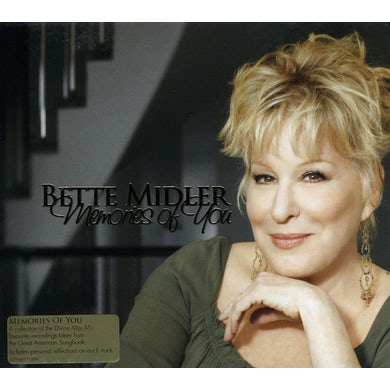 Bette Midler MEMORIES OF YOU CD