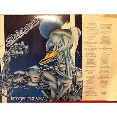 Digger STRONGER THAN EVER Vinyl Record