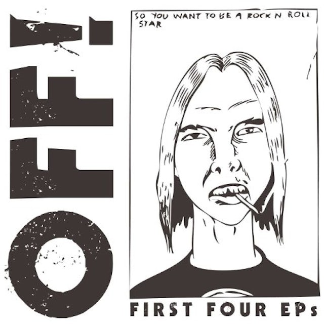 Off FIRST FOUR EPS Vinyl Record